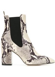 Paris Texas snakeskin-effect boots