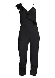 Parker Addison One-Shoulder Jumpsuit