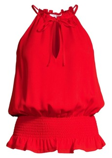 Parker Alberta Sleeveless Silk Top