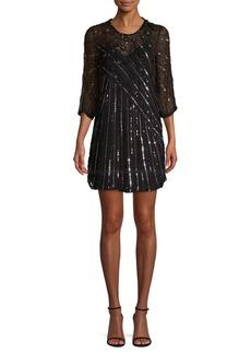 Parker Alejandra Sequin Shift Dress