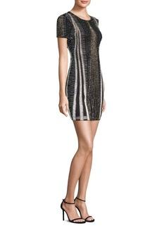 Parker Alice Beaded Mini Dress