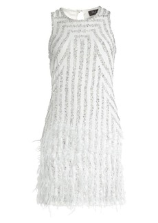Parker Allegra Embellished Mini Dress
