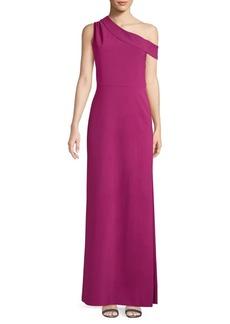 Parker Andrea One-Shoulder Column Gown