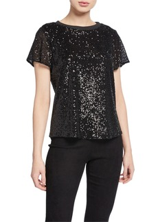 Parker Anna Sequined Top