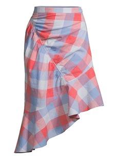 Parker Astrid Check Skirt