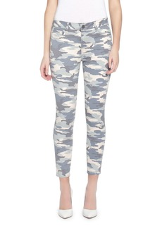 Parker Ava Crop Skinny Camo-Print Jeans