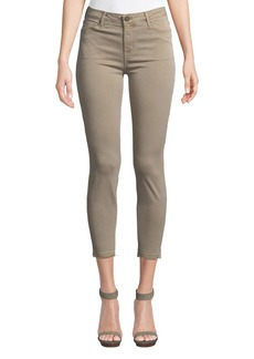 Parker Ava Cropped Mid-Rise Skinny Jeans