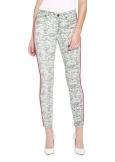 Parker Ava Printed Skinny Jeans w/ Side Stripes