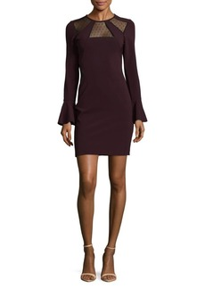 Parker Bell Sleeve Sheath Dress