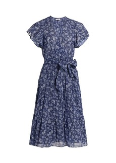 Parker Bessie Floral Wrap Dress