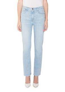 Parker Bombshell Runaround High-Rise Straight Jeans