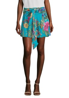 Parker Bridgette Floral-Print Mini Skirt