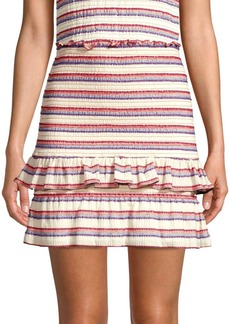 Parker Cabana Stripe Skirt