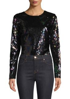 Parker Cher Combo Sequin Bodysuit