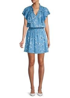Parker Daisy-Print Dress