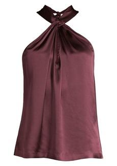 Parker Dallas Silk Halter Top
