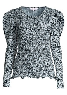 Parker Danna Puff Sleeve Smocked Top