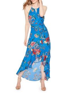 Parker Davina Floral-Print Halter Maxi Dress