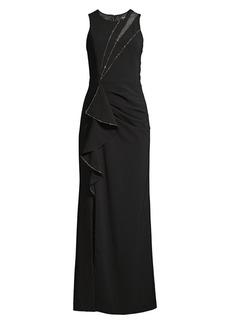 Parker Ella Embellished Column Gown