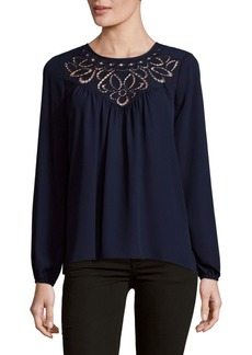 Parker Embroidered Blouse