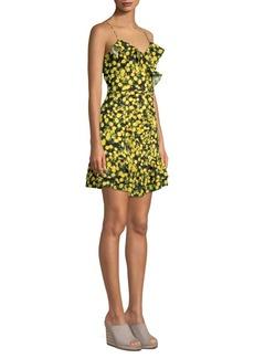 Parker Erica Ruffle Mini Dress
