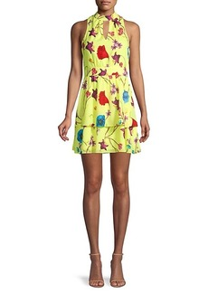 Parker ​Floral-Print Fit-&-Flare Tiered Dress