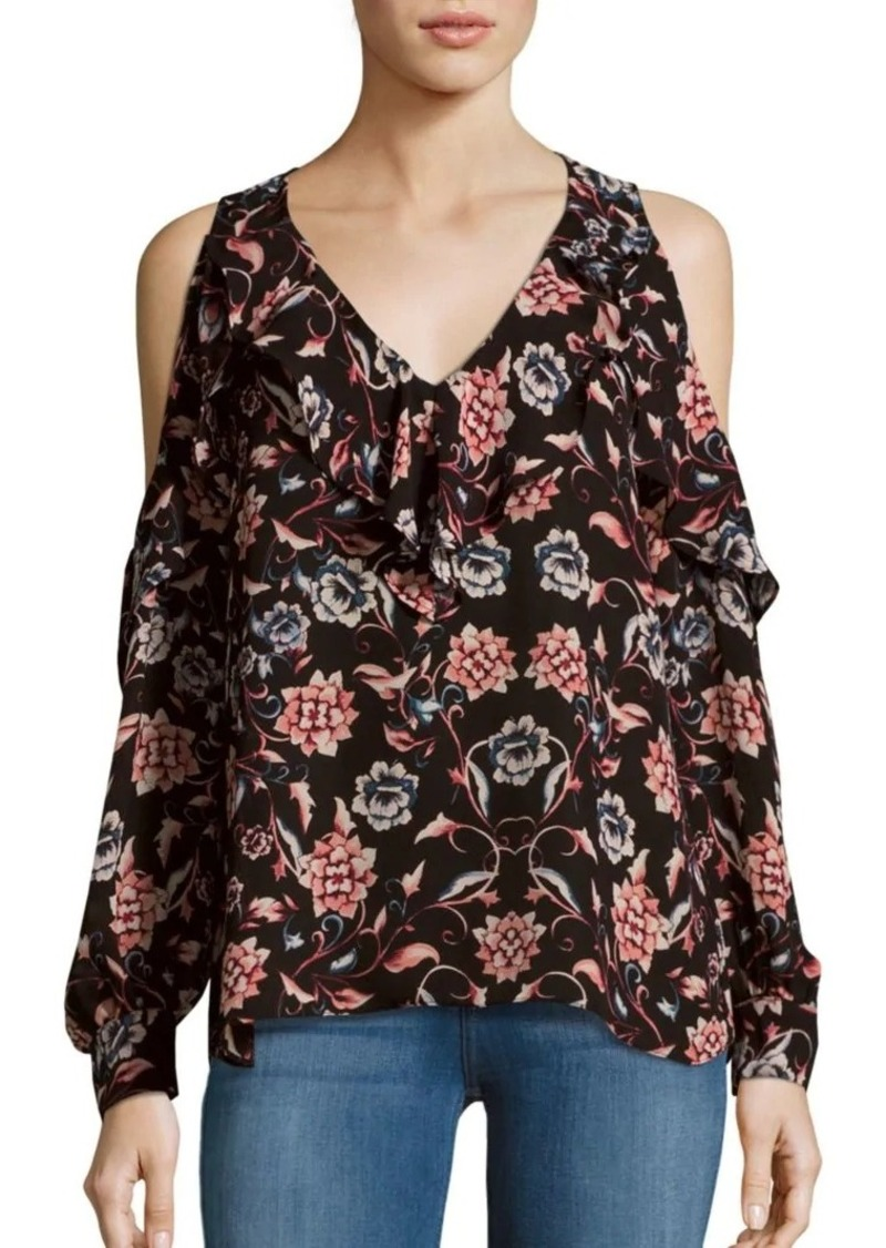 a48f6fcd12cbdf Parker Floral Printed Cold Shoulder Top