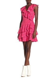 Parker Floral Ruffled Mini Dress