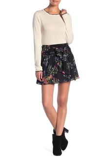 Parker Floral Tie Waist Skirt