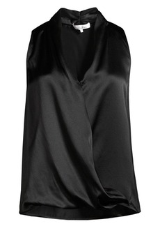 Parker Fredda Silk Sleeveless Blouson Top