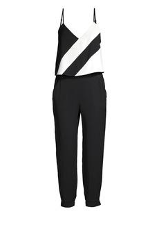 Parker Frida Combo Sleeveless Crop Jogger Jumpsuit