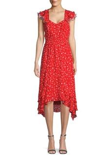 Parker Grenada Floral Midi Dress