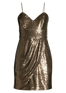 Parker Guayana Metallic Mini Dress