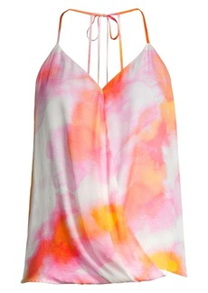 Parker Harlow Sunset Tie Halter Top