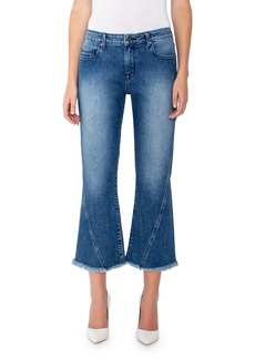 Parker Harper Mid-Rise Cropped Flare Jeans