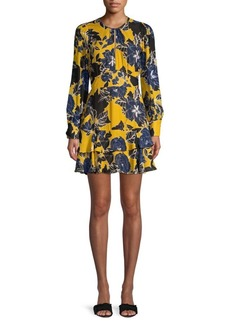 Parker Hayley Floral Tiered Ruffled A-Line Dress