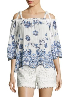 Parker Jillian Off-The-Shoulder Blouse