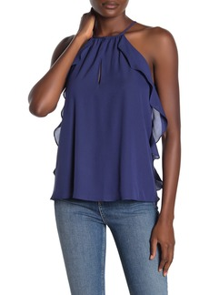 Parker Keyhole Ruffle Top