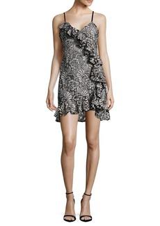 Parker Lace Ruffle Mini Dress