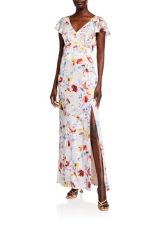 Parker Lielle Floral Column Dress