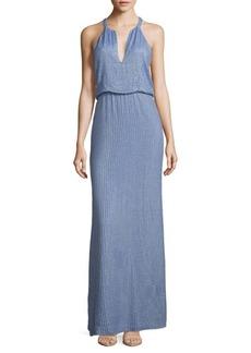 Parker Marceline Embellished Blouson Gown