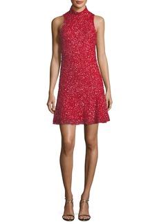 Parker Marley Sequin Sleeveless Mini Dress