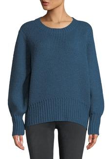 Parker Matty Tie-Back Crewneck Sweater