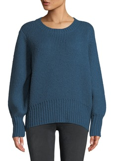 Parker Matty Tie-Back Crewneck Sweater