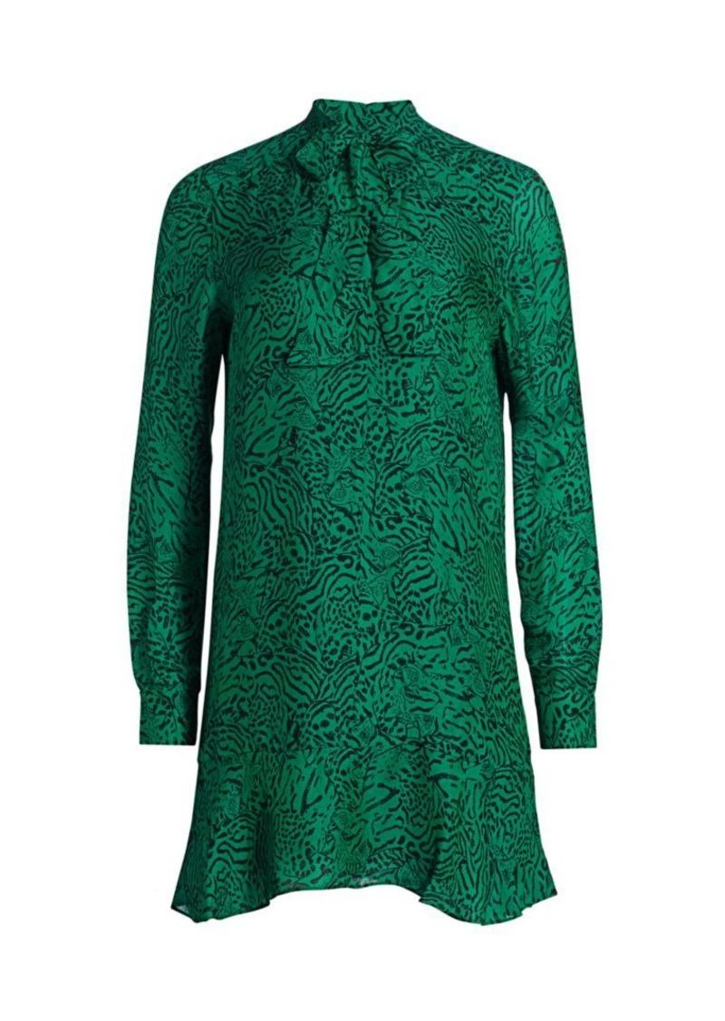 Parker Mercer Animal Print Dress