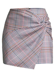 Parker Montaigne Check Mini Skirt