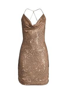 Parker Paris Cowlneck Dress