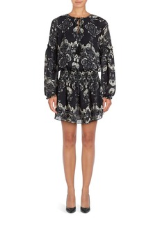 Parker Abstract Printed Smock Dress