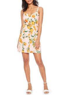 Parker Adara Sleeveless Front Button Minidress