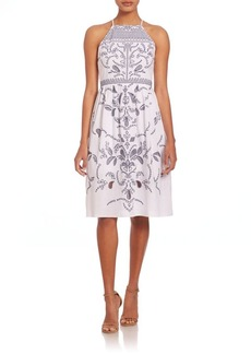 Parker Alana Embroidered Dress